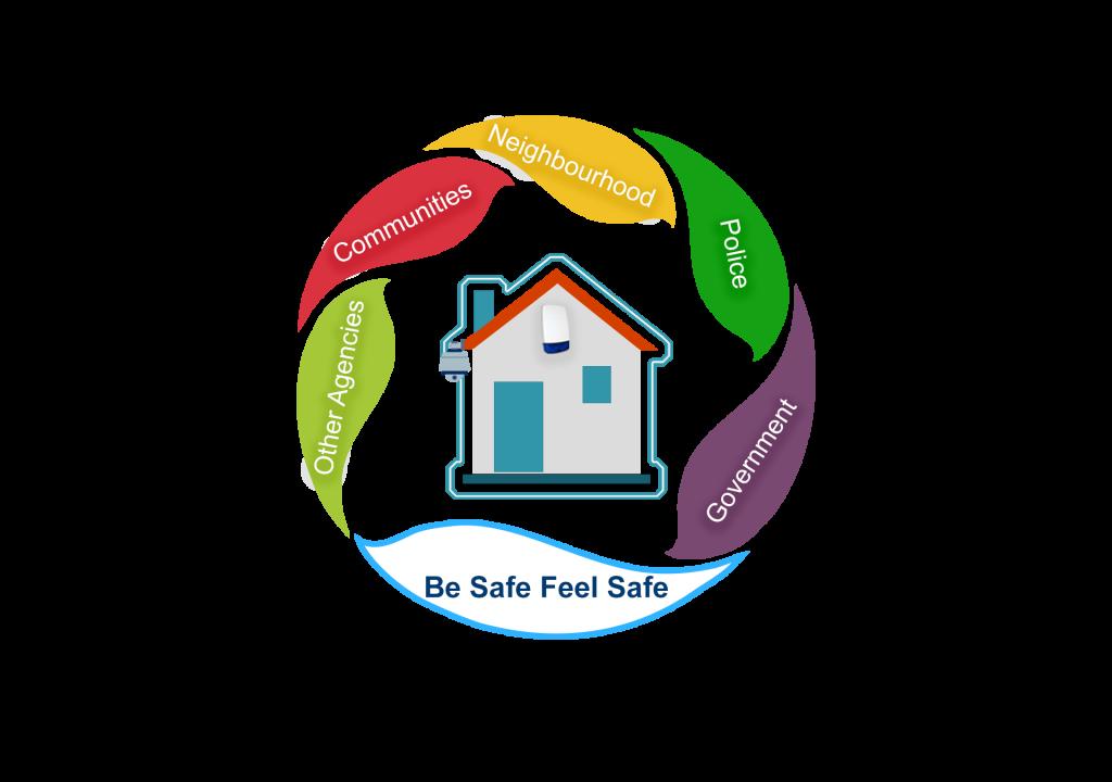 BeSafeFeelSafe Logo